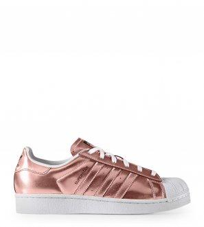 Adidas - Baskets Superstar Rose gold/Blanc
