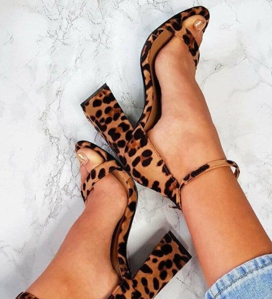 Sandales à talon épais Joyce